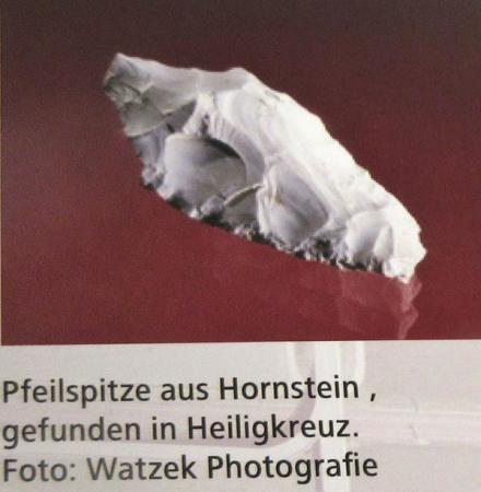Pfeilspitze Heiligkreuz