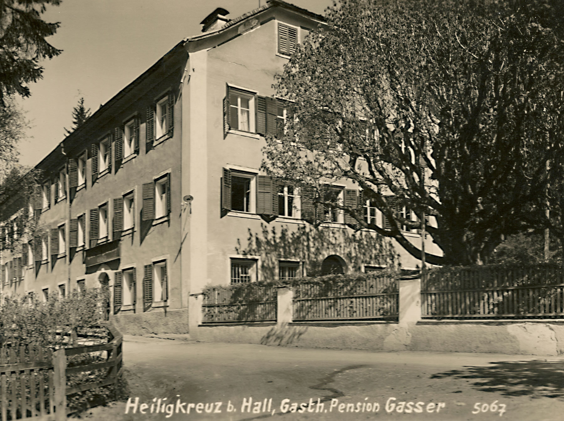 Hotel Heiligkreuz 1930