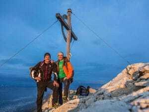 Bettelwurf Gipfelfoto Rainer Eisendle Bruno Stampfer