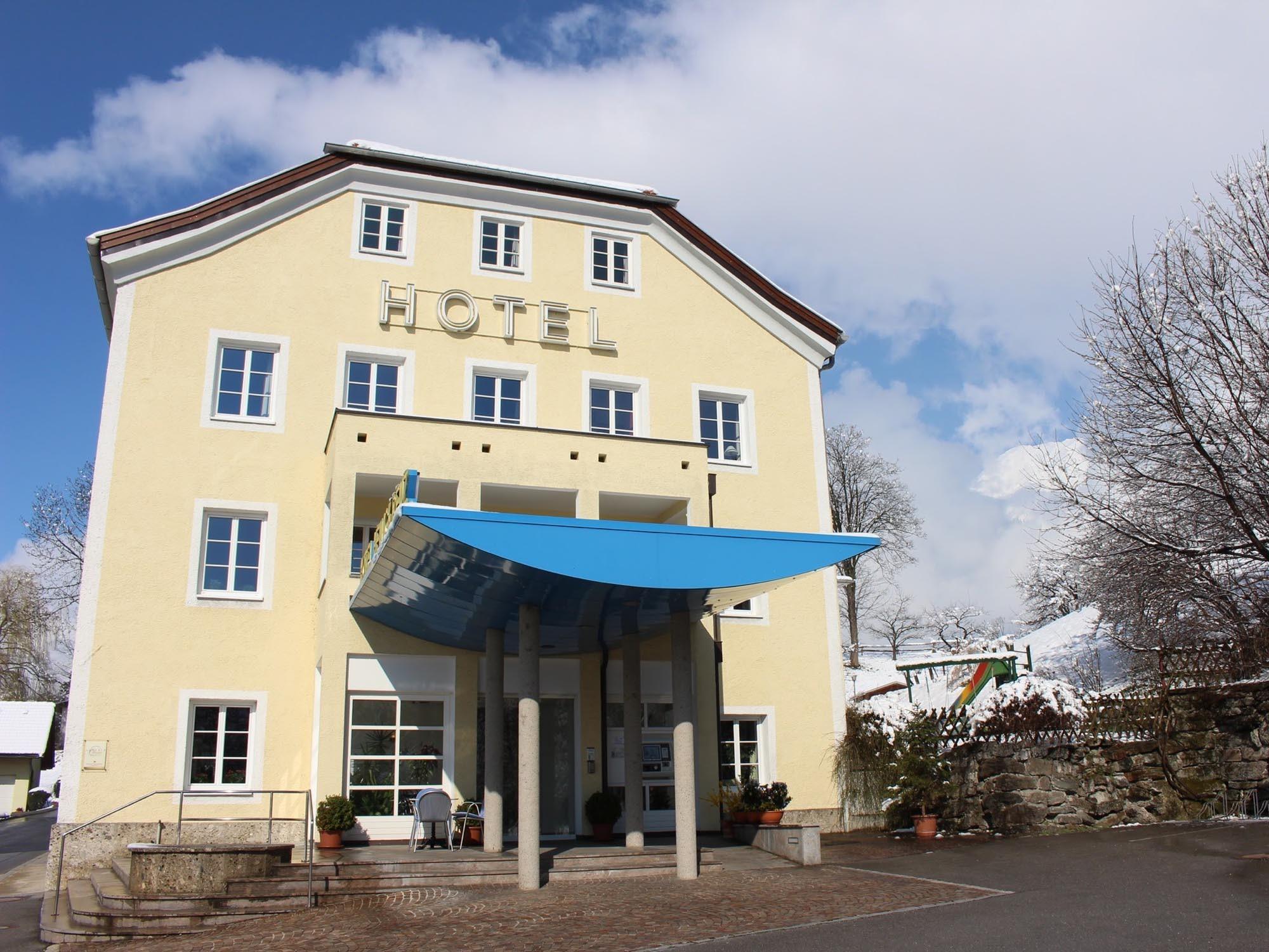 Hotel Heiligkreuz im Winter