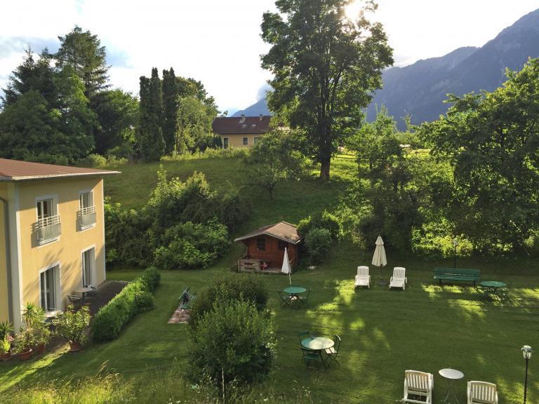 Gastgarten des Hotel Heiligkreuz