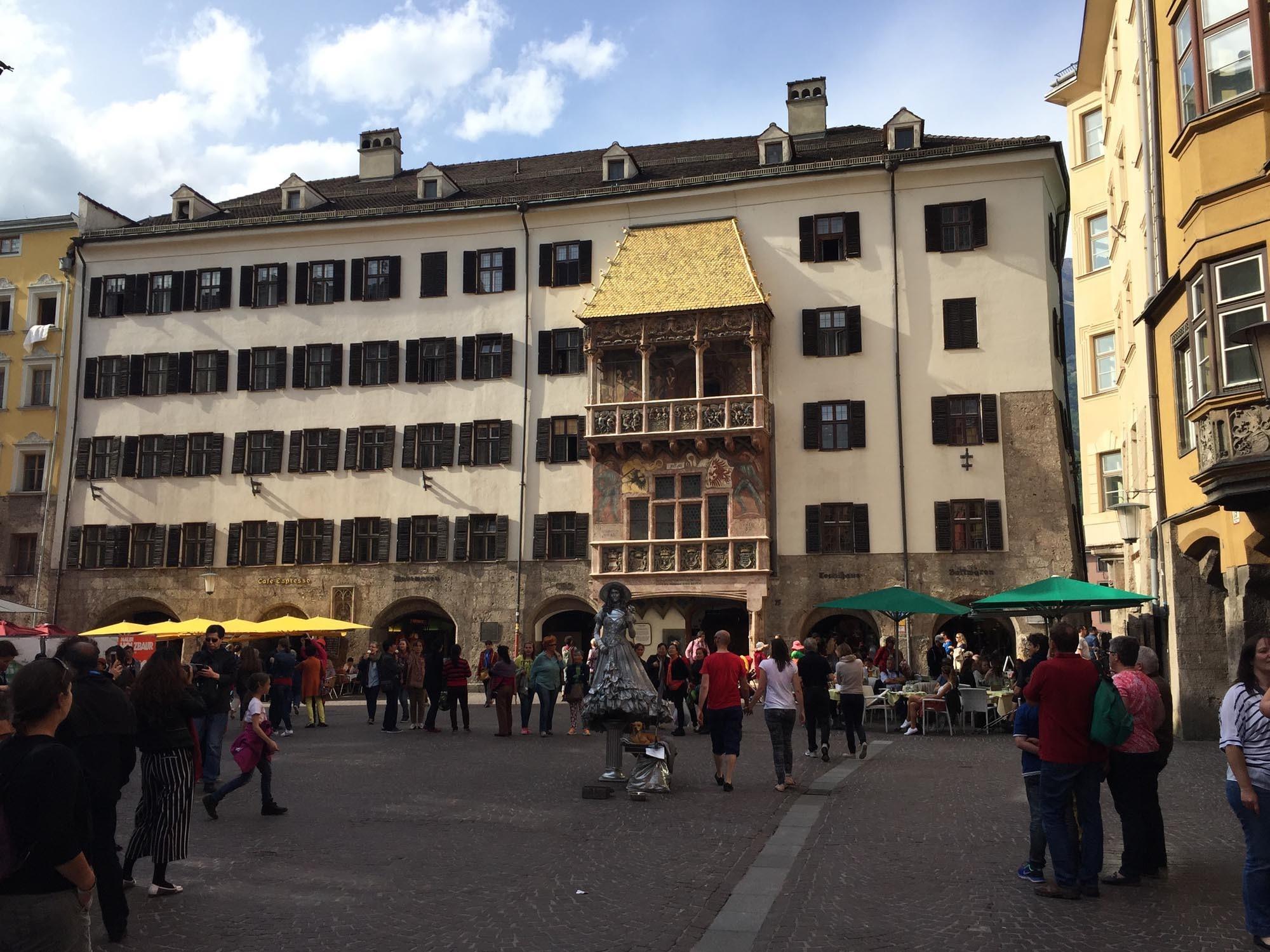 Goldenes Dachl Innsbruck - Angebote von Hotel Heiligkreuz in Hall