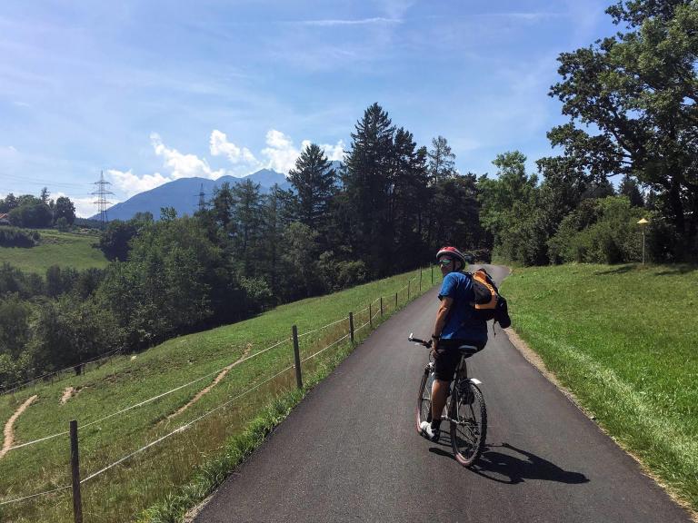 Mountainbike Touren Rainer Eisendle Hotel Heiligkreuz
