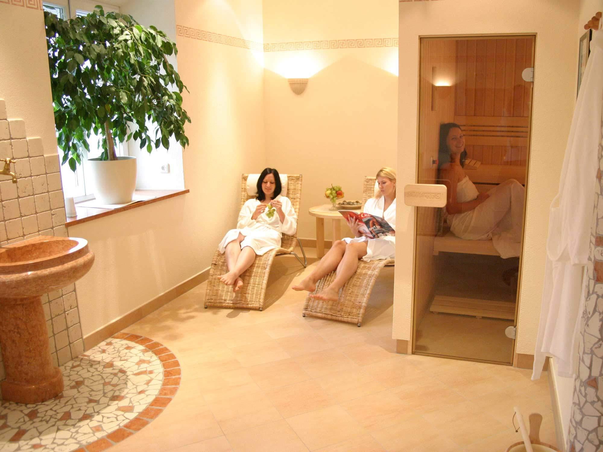Finnische Sauna - Austria Classic Hotel Heiligkreuz Hall bei Innsbruck