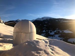 Weerberg Sternwarte im Winter