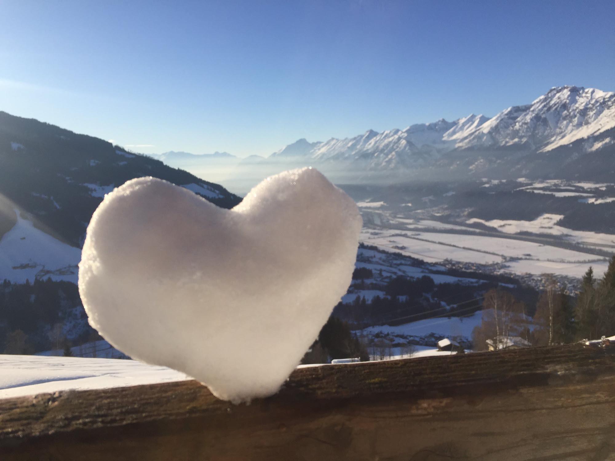 Winterstimmung am Weerberg - Hotel Heiligkreuz