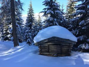 Winterstimmung Stubaital - Hotel Heiligkreuz