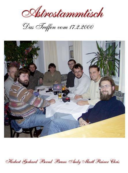 2. Astrostammtisch 2000 Hotel Heiligkreuz Hall in Tirol