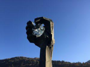 swarovski Hand Kristall Hotel Heiligkreuz Hall